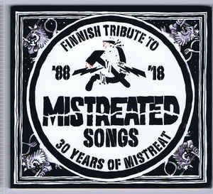 V A Mistreated Songs Finnish Tribute To 30 Years Of Mistreat CD